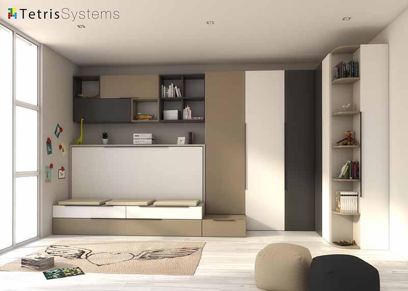 Mueble juvenil espai moble for Cama nido juvenil ikea