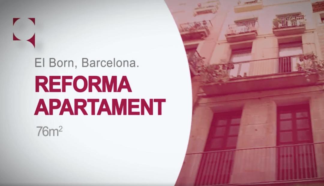 Reforma integral d'apartament al Born