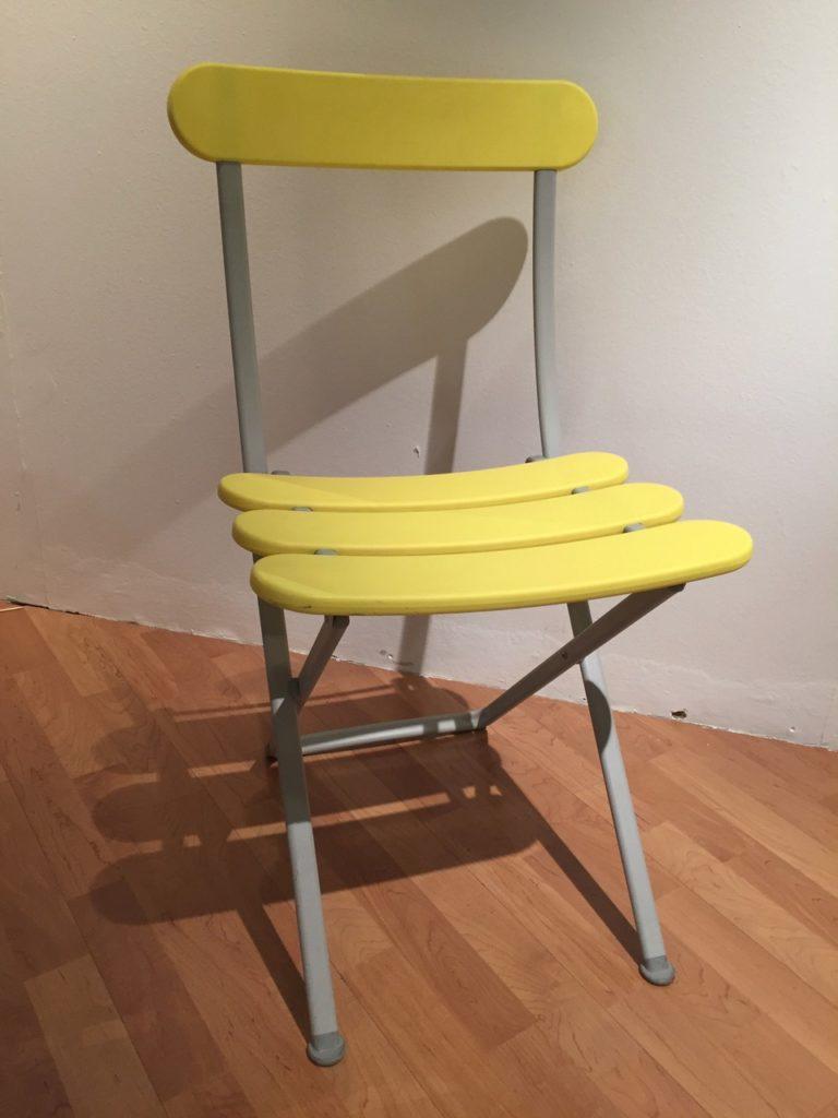 cadira plegable