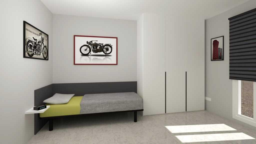 Habitació juvenil mobles blancs