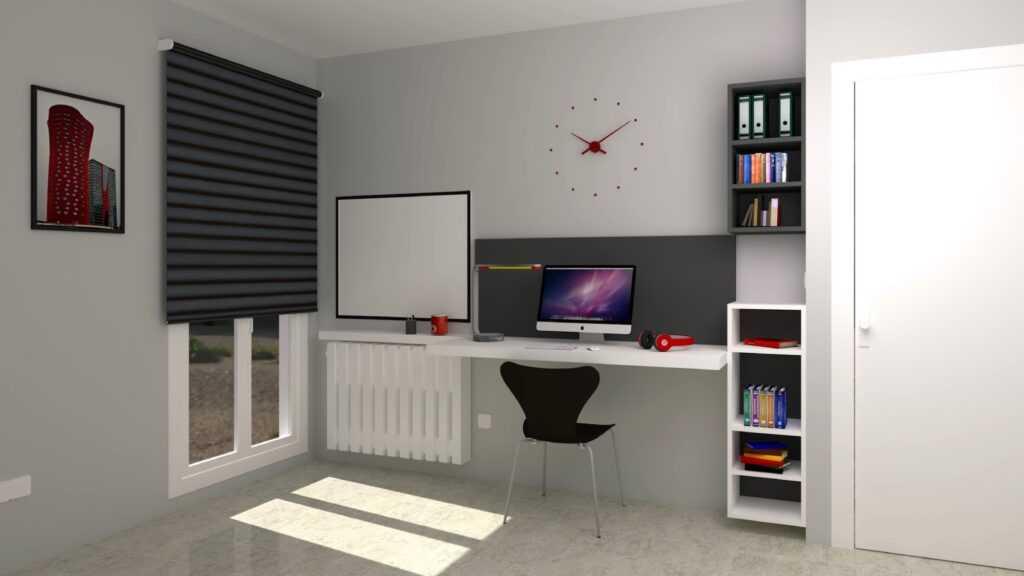 habitacions juvenils escriptori