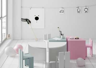Espai Moble-escriptori amb cadira infantil